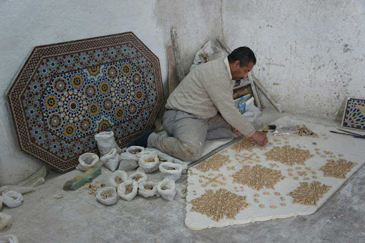 Morocco's Traditional Crafts: Pottery and Zellige Tilework | Mint Tea Tours