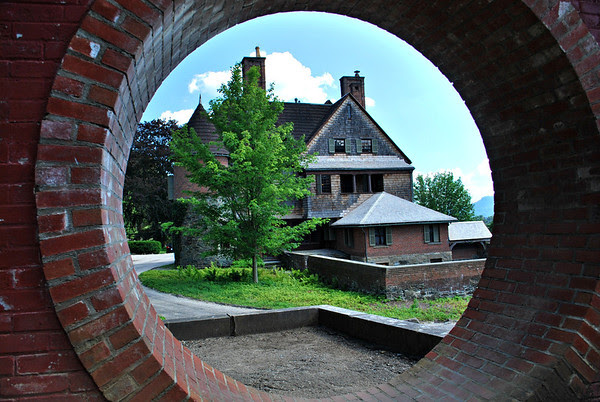 Naumkeag Through the Moon Gate