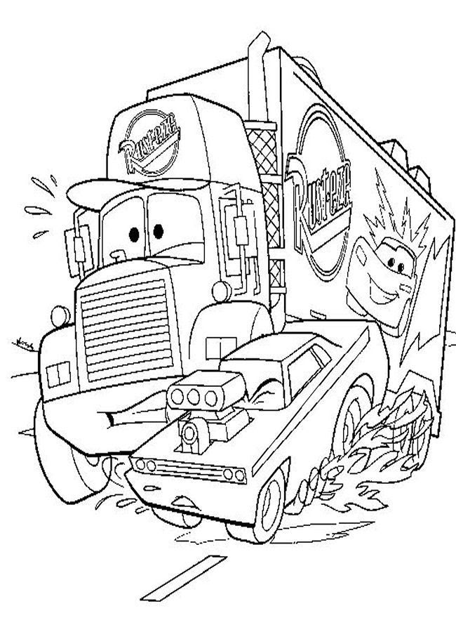Disney Pixar Cars Coloring Pages Coloring Home