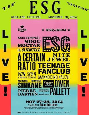 Weekend Fest Koln, Germany, 27-30 November 2014
