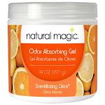 Natural Magic 4119d Citrus Solid Gel Odor Deodorizer, 14 Oz