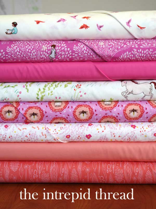 Wee Wander bundle Giveaway with the Intrepid Thread for Friday's Fabric Giveaway!