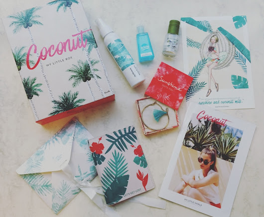 Juillet: My Little Coconut Box
