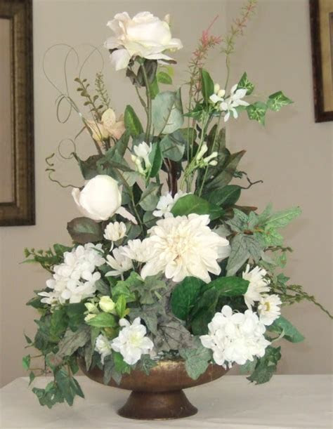 Ana Silk Flowers: PIctures!!!  Silk Flowers White