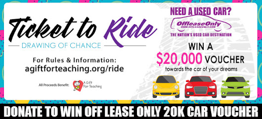A $50 Ticket Might Help You Win the Vehicle of Your Dreams While Supporting a Great Charity