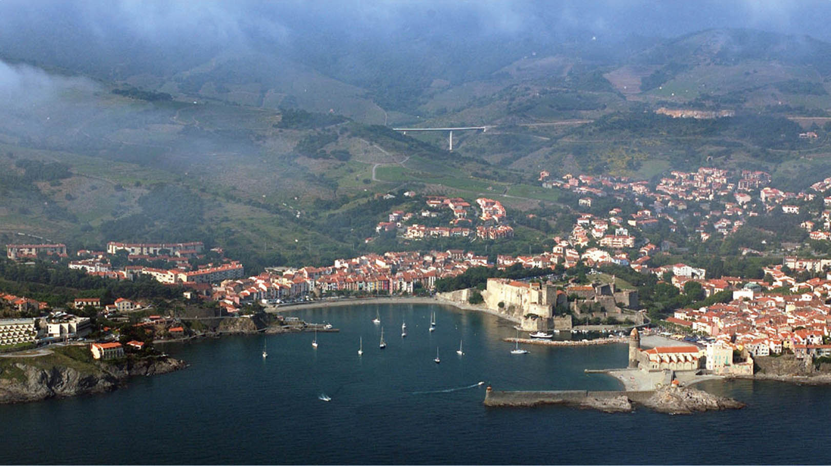 Collioure from air1