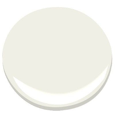 """White Dove BENJAMIN MOORE WHITE DOVE OC-17: """"The one color that people consistently pick for moldings and windows is White Dove. It has the softness of alabaster, with a little gray and a little yellow. For long-term livability, what helps is that yellow cast. Put it up against other colors and you'll see how well it works. It's practically universal."""""""