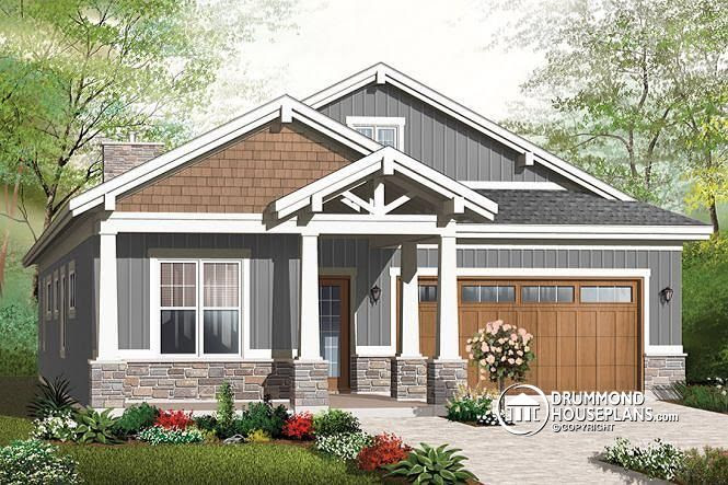 Environmentally Superior Bungalow Drummond House Plans