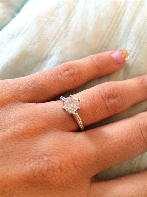 My perfect engagement ring!   My wedding ideas   Pinterest