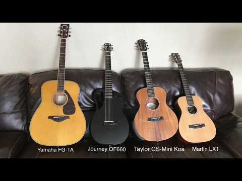 Journey OF660 Overhead Carbon Fiber Guitar