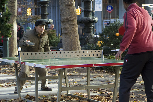 Ping Pong, in Bryant Park