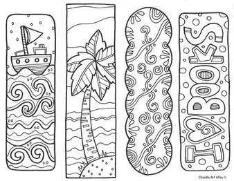 5800 Bookmark Coloring Free Images