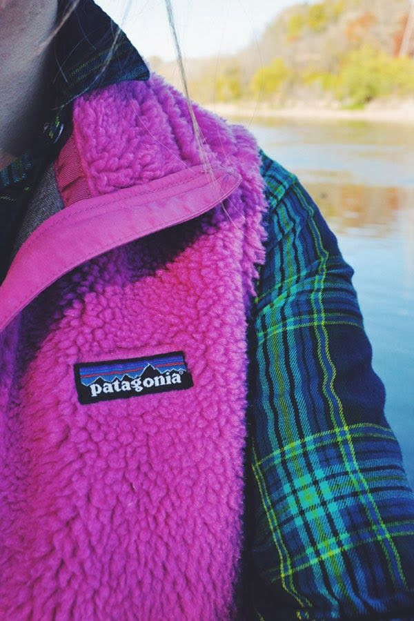 Patagonia & plaid.
