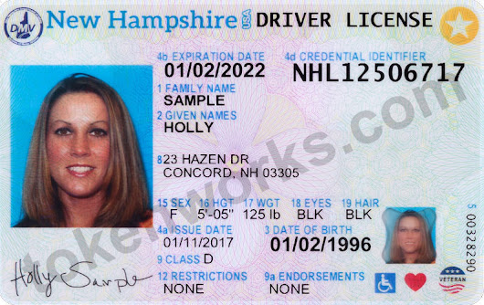 New Hampshire Gets New, Redesigned Driver's Licenses and ID Cards | Tokenworks