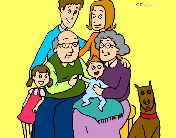 Dibujo De Mi Familia Pintado Por Mariass En Dibujosnet El Día 04 09