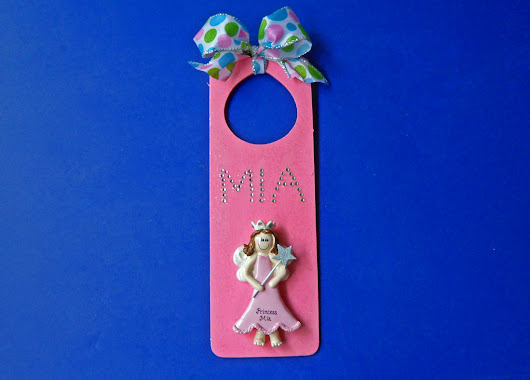 DIY Personalized Ornament Door Hanger For Every Room In Your Home