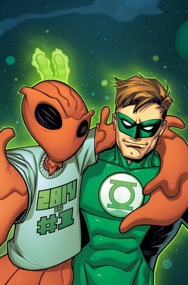 Selfie Green Lantern