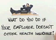 Where do people get private insurance?