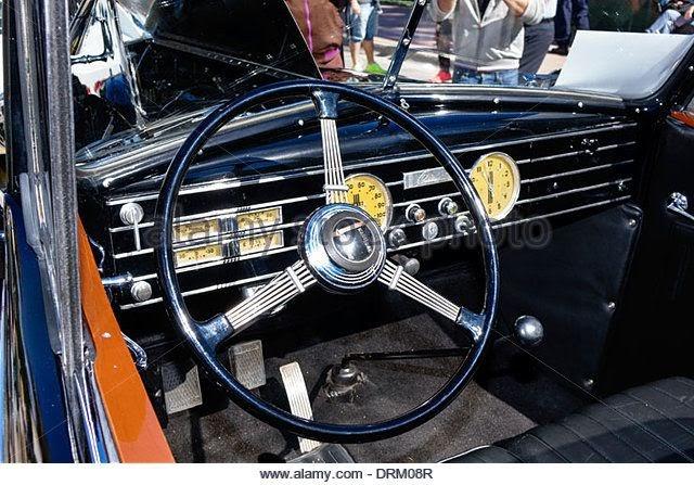 Art Deco Car Interior