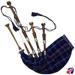 Pride of Scotland Scottish Great Highland Bagpipe Rosewood