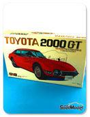 Maqueta de coche 1/20 SpotModel - Nagano Plastic Model - Toyota 2000GT
