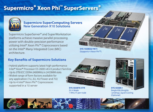 Xeon Phi™ Optimized Solutions | GPU/Xeon Phi™ Solutions | Products - Super Micro Computer, Inc.