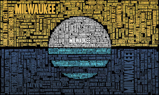 Milwaukee Neighborhood Word Cloud