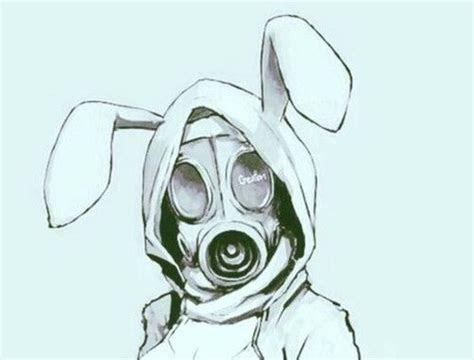image de anime bunny  gas mask tattoo pinterest
