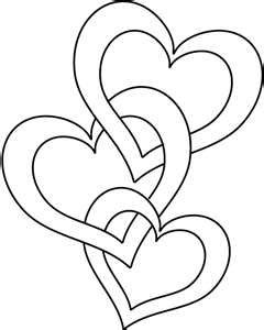 Free 3 Hearts Linked Cliparts Download Free Clip Art Free Clip Art