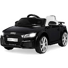Best Choice Products 6v Kids Audi Tt Rs Ride On Car with Parent Control, 2 Speeds, Suspension, Aux Input Black