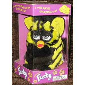 Furby Model 70-800 Bumblebee Yellow + Black