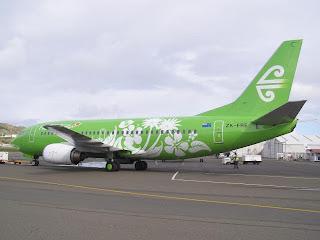 Air New Zealand B737-300