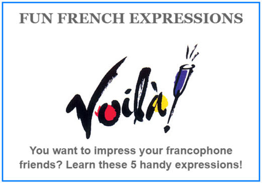 Learn 5 Fun French Expressions! - TripUSAFrance