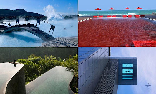 The WEIRDEST hotel pool that are making a splash around the world