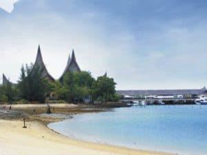 Tempat Wisata Batam, Pantai Marina