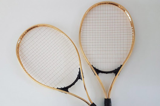 Limited Edition 24K Gold Champion's Tennis Racket - eXtravaganzi