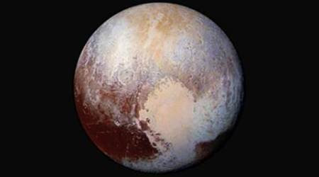 Moon saving Pluto's atmosphere fromdecay
