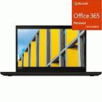 "Lenovo ThinkPad T490 20N20008US 14"" Notebook - 1366 x 768 - + Office 365 Bundle"