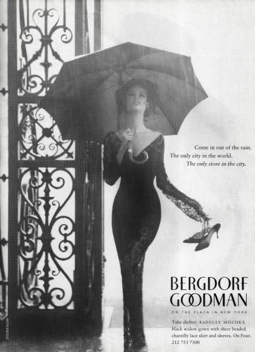 Bergdorf Goodman S/S 1992Photographer: Steven Klein