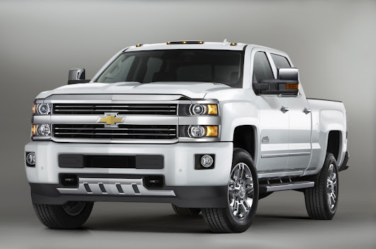 2016 Chevy Silverado 2500HD Gets New Colors, Wireless Charging, Remote Locking Tailgate And More