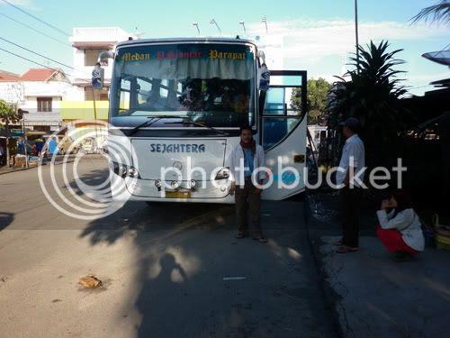 Naik Bus Sejahtera Dari Ajibata (Parapat) Ke Pematang Siantar