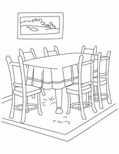 Dinner Clipart Black And White : dinner, clipart, black, white, Dining, Decoration:, Clipart, Black, White