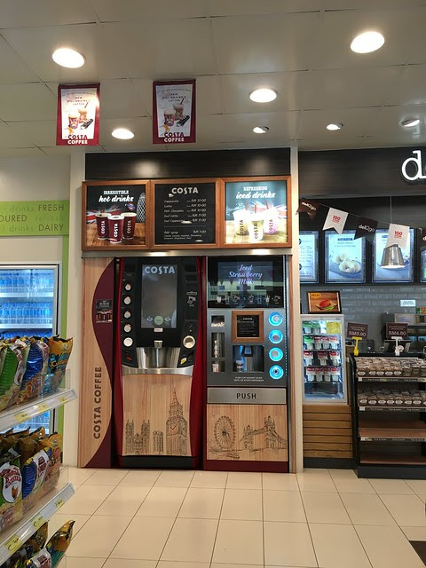 COSTA Coffee Malaysia (in Shell stations) - Nice or not?
