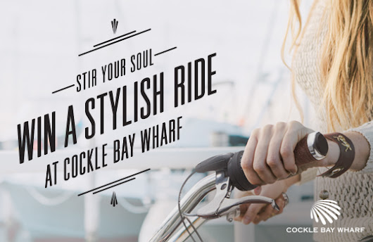 Stir Your Soul - Win a Stylish Ride at Cockle Bay Wharf