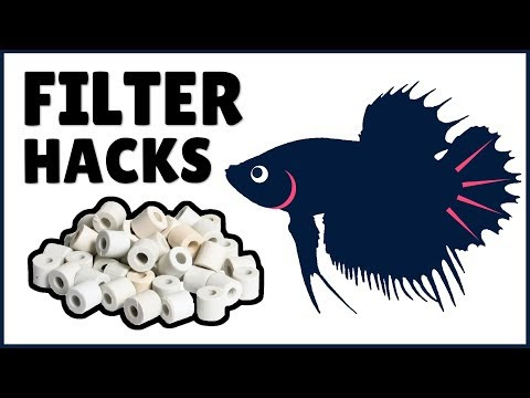 How to DIY Upgrade the Filter for a Top Fin 5 Gallon Aquarium | Hack My Betta Tank