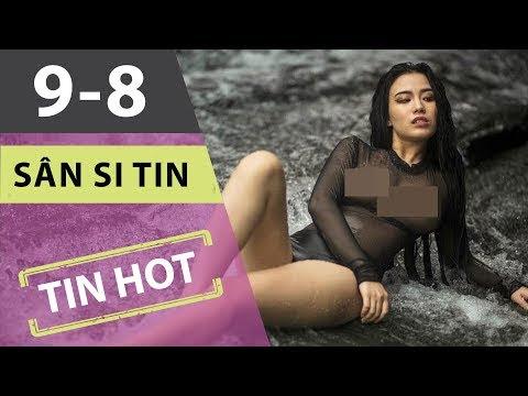 Warning 18+ Linh Miu đầy khiêu khích trong bộ ảnh tắm suối | SST 090817