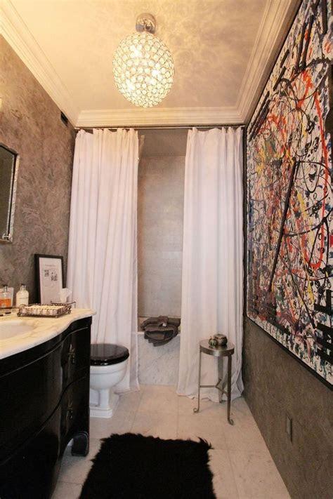 double    shower curtains   part