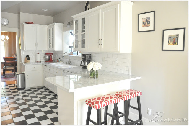 Renovating your kitchen Inspiration: Checkered charm