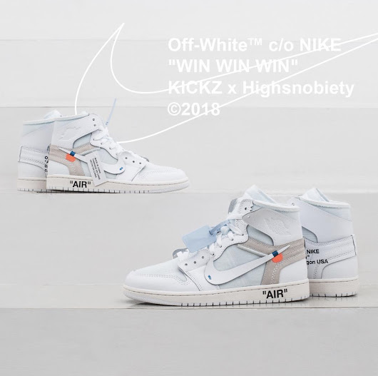 #Win OffWhite x Nike Air Jordan 1 Sneakers from Highsnobiety #USA - #GIFTOUT #FREE #GIVEAWAYS | #Singapore | #Malaysia | #USA | #Korea | #Worldwide