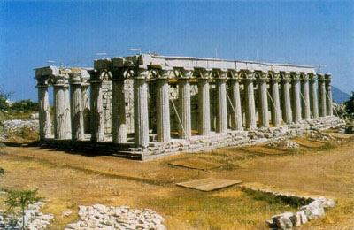 Ο ναός του Επικούρειου Απόλλωνα στις Βάσσες
